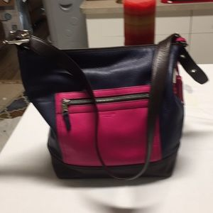 A large COACH purse in great shape